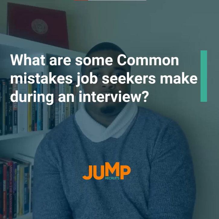 What are some common mistakes job seekers make during an interview